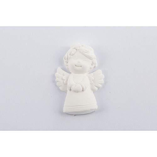 24x gesso gessetto angelo 3x4 cm decorazione bomboniera