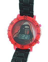 Star Wars Kids Kylo Ren Episode VII Digital Watch w/Light Up Feature SWM3079