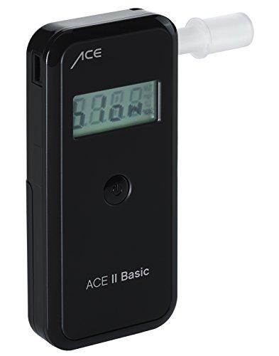 Alkoholtester ACE II Basic plus, TU-Wien-Messgenauigkeit: 99,0%, polizeigenaue Messergebnisse durch elektrochemischen Sensor, Messbereich 0,00‰ - 4,00‰