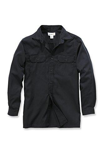 Carhartt Twill Long Sleeve Work Shirt - Arbeitshemd Herren - S224