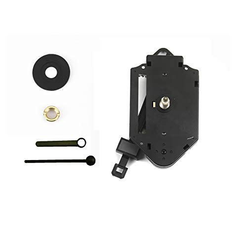 Clock-it meccanismo pendolo di qualità perno medio 16mm per riparazione, sostituzione o realizzazione orologi pendolo da parete. azienda italiana specializzata.