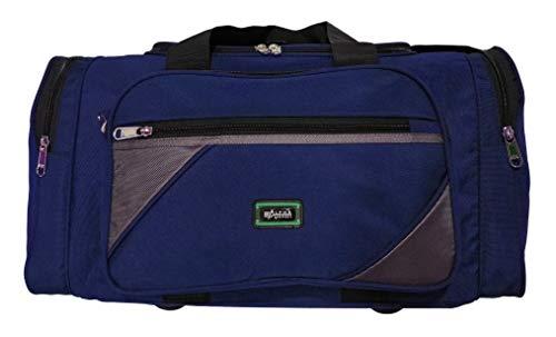 Alpha Nemesis Polyester Travel Duffel Bag (Navy Blue)