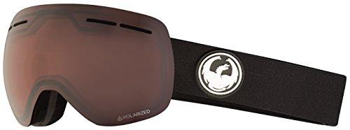 Dragon X1s Snow Goggles One Size Black ~ LumaLens Polarised