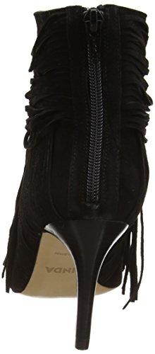 Zinda 2112 Damen Kurzschaft Stiefel Schwarz (Negro)