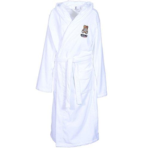 Preisvergleich Produktbild Moschino Herren Bademantel Weiß weiß Gr. X-Large,  weiß
