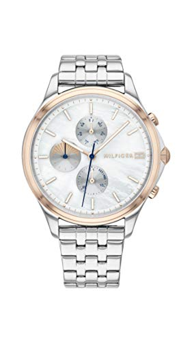 Tommy Hilfiger Damen Analog Quarz Uhr mit Edelstahl Armband 1782122 - Damen Uhren Movado