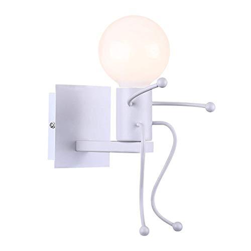 Aplique decorativo moderno y simple para habitación infantil, casquillo de lámpara E27,...