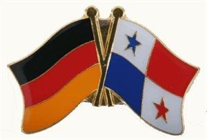 Yantec Freundschaftspin Deutschland-Panama Pin Flagge (Flagge Pin Panama)