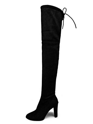 Minetom Donna Stivali Moda Sexy Casual Elegante Invernali con Tacco Alti sopra Il...