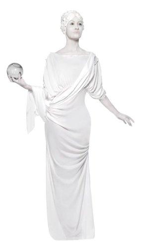Statuekostüm Kostüm Statue für Damen römische römisches Damenkostüm Antike antik Gr. 36/38 (S), 40/42 (M), Größe:S (Römische Statue Kostüm)