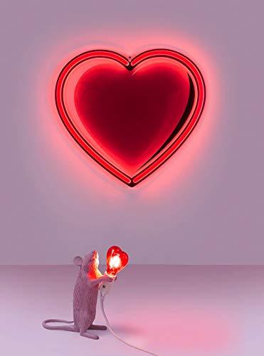 Seletti mouse lamp san valentino