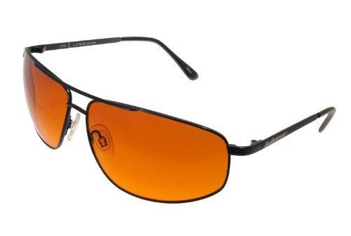 Preisvergleich Produktbild BluBlocker Sonnenbrille mit 67 mm breiten Gläsern Schwarz Mittel