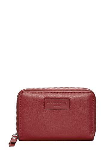 Liebeskind Berlin Damen Essential Sophia Wallet Large Geldbörse, Rot (Italian Red), 4x11x17 cm