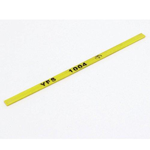 100 mm x 4 mm x 1 mm 600 # Borid Abrasives Schleiföl Stein Gelb