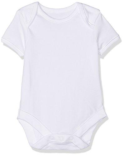 Mothercare Unisex Baby Body My First Short Sleeve Bodysuits-7 Pack, weiß, 0-3 Monate (Hersteller Größe: 62 cm)