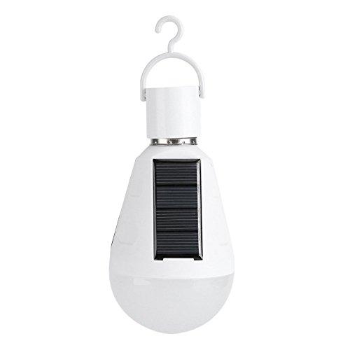 7W bombilla solar LED portátil 400 lm 1200 mah panel solar de...