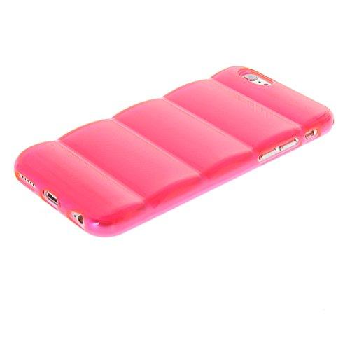 MOONCASE TPU Silicone Housse Coque Etui Gel Case Cover Pour Apple iPhone 6 Plus Hot Rose Hot Rose