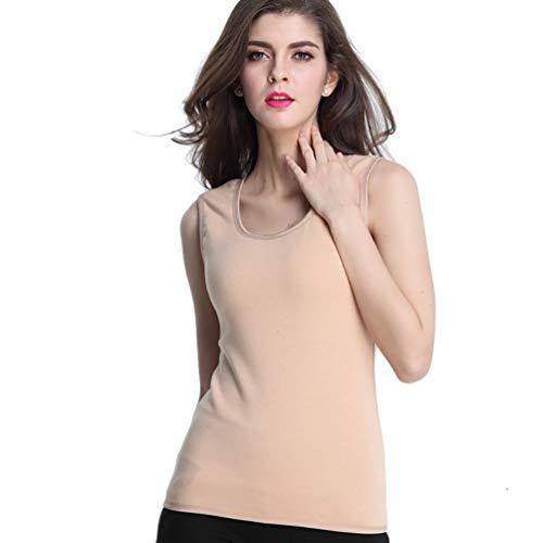 LUCHA - Camiseta tirantes mujer forro polar, skin