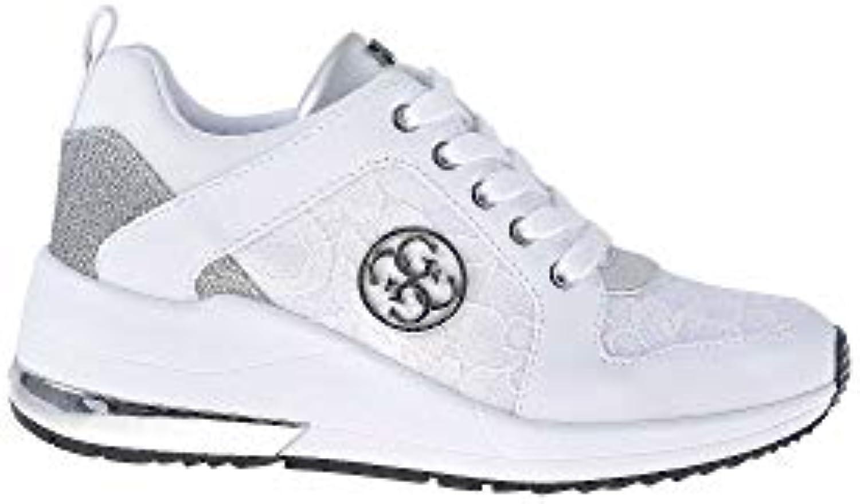 Mr.   Ms. Guess scarpe da ginnastica Donna MOD. FL5JARLAC12 bianca Prezzo speciale Altamente elogiato e apprezzato dal pubblico dei consumatori Ricca consegna puntuale | Forte calore e resistenza al calore  | Scolaro/Ragazze Scarpa
