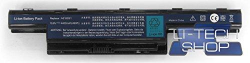LI-TECH Batterie Compatible pour Packard-Bell EasyNote d'occasion  Livré partout en Belgique