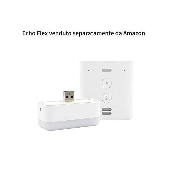 Luce-Notturna-Smart-di-Third-Reality-per-Echo-Flex-Made-for-Amazon