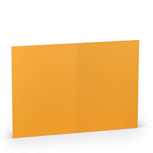 Dunkelblau Set di biglietti quadrati 15 x 15 cm con buste per biglietti di auguri inviti e pi/ù marchio di qualit/à: FarbenFroh/® by GUSTAV NEUSER/® 25 Sets 17
