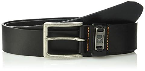 HUGO BOSS mens Jackson-n Leather Belt Belt  - black -