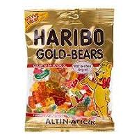 Haribo Gold Bears (Halal) Gummy Candy, 160g