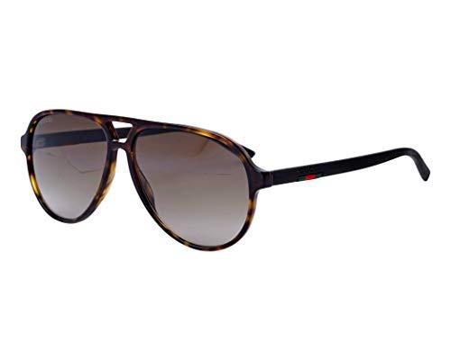 Gucci Sonnenbrillen (GG-0423-S 003) dunkel havana - matt braun - grau-braun verlaufend
