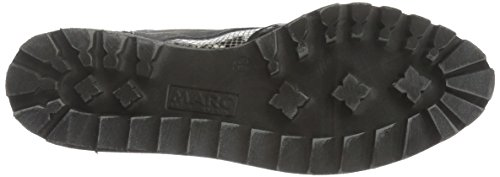 Marc Shoes Katy, Brogues femme Noir - Schwarz (black-combi 00024)