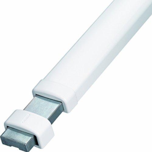 ABUS Panzerriegel PR2700 für Haus- und Wohnungstüren ohne Zylinder, weiß, 49099 - 2