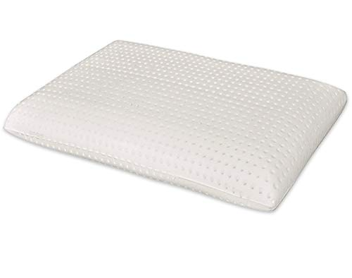 Marcapiuma - Cuscino in Memory Foam Modello Saponetta con Fodera 100{a1be55c2e590722efcd307a0e718e407a6ebfea36408a59251de394a55b8db8d} Cotone Guanciale Memory Ortopedico Contro Dolore Collo e cervicali Dispositivo Medico Detraibile 19{a1be55c2e590722efcd307a0e718e407a6ebfea36408a59251de394a55b8db8d} dalle Tasse - Made in Italy