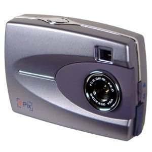 SiPix StyleCam Digital Camera [0.3MP] - Silver