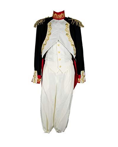 Set Kostüm Napoleon - Napoleon Herren Kostüm Deluxe für alle Neuzeit Kaiser XL