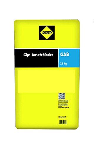 25 Kg Sakret GAB Gips-Ansetzbinder