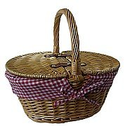 The Uppercrust Mini Lined Picnic Basket