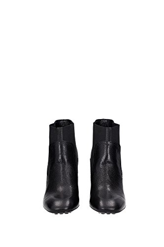 innovative design 6a225 208e7 ... XXW0ZL0Q780E9SB999 Tod s Chaussure mi montantes Femme Cuir Noir Noir  XXW0ZL0Q780E9SB999 ...