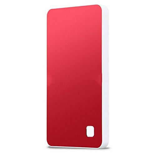CCHAO Disco Rigido Esterno 1T Usb3.0 Trasmissione Ad Alta velocità Wireless Intelligente da 2,5 Pollici,Red,1T