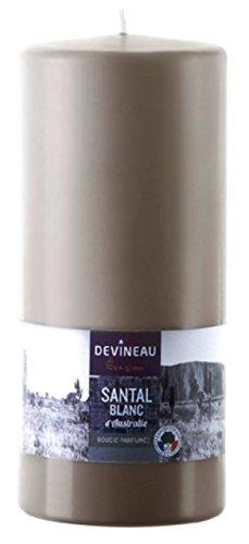 devineau-1608757-vela-gran-modele-60h-santal-del-australia-color-gris