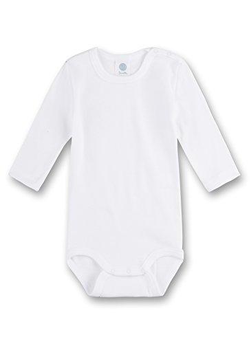 Sanetta 320700 Unisex - Baby Babykleidung/ Unterwsche/ Bodys, Weiß (Weiss), Gr. 104