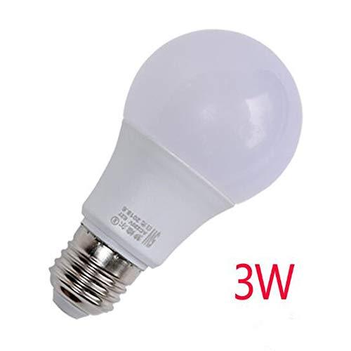 Multi-style famiglia ha condotto la luce calda, bianca, lampada della lampadina naturale sferica 3W, 5W, 7W E14 (piccola vite) luce bianca positiva 45 * 80mm