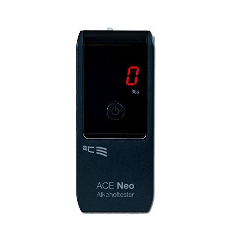 ACE Alkoholtester Neo, TU-Wien-Messgenauigkeit: 95,70% - Polizeigenau (Navy)