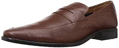 Ruosh Men's Nashford Tan/Light Brown Leather Formal Shoes-7.5 UK (41 EU) (8 US) (1121045971)