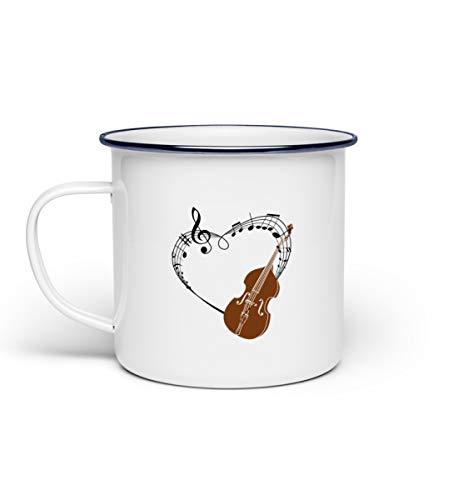 Für Kontrabass Musiker im Orchester - Emaille Tasse
