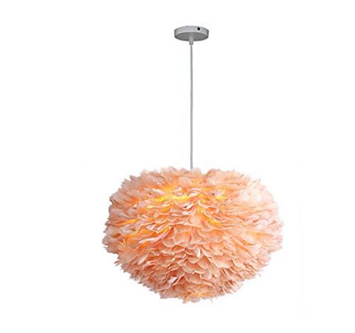 3 Lampe Feder Kronleuchter umweltfreundliche Leichtmetallgewebe neues Design 110-120V / 220-240V@Beige -