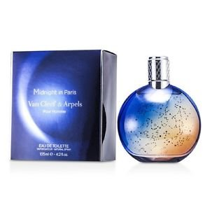 NEW Van Cleef & Arpels Midnight In Paris EDT Spray 4.2oz Mens Men's Perfume