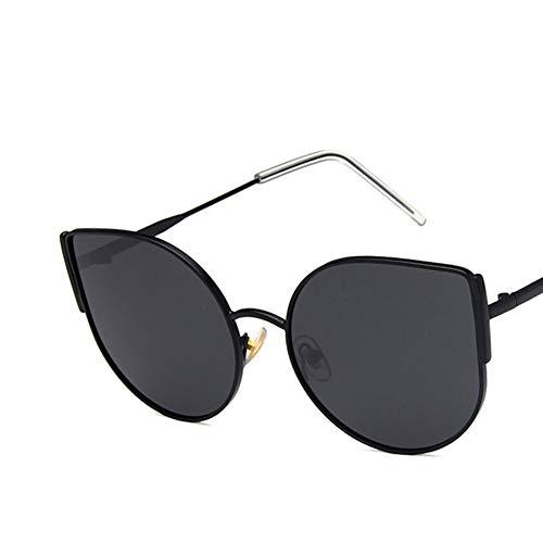 Z&HA Frauen Cat Eye Sonnenbrille, Mode Retro großen Rahmen polarisierten High-Definition-Harz Objektiv UV400 Schutz Blockierung UV, geeignet für Straßenaufnahmen Urlaub,03