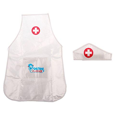 (Homyl Kinder Krankenschwester Kostüm, Kinder Rollenspielzeug)