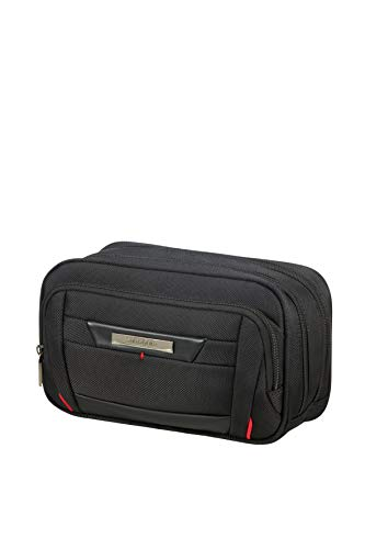 SAMSONITE Pro-DLX5 Cosmetic Cases - Horizontal Kulturtasche, 24 cm, Black -