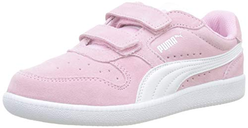 Puma Unisex-Kinder Icra Trainer SD V PS Sneaker Pale Pink White, 32 EU
